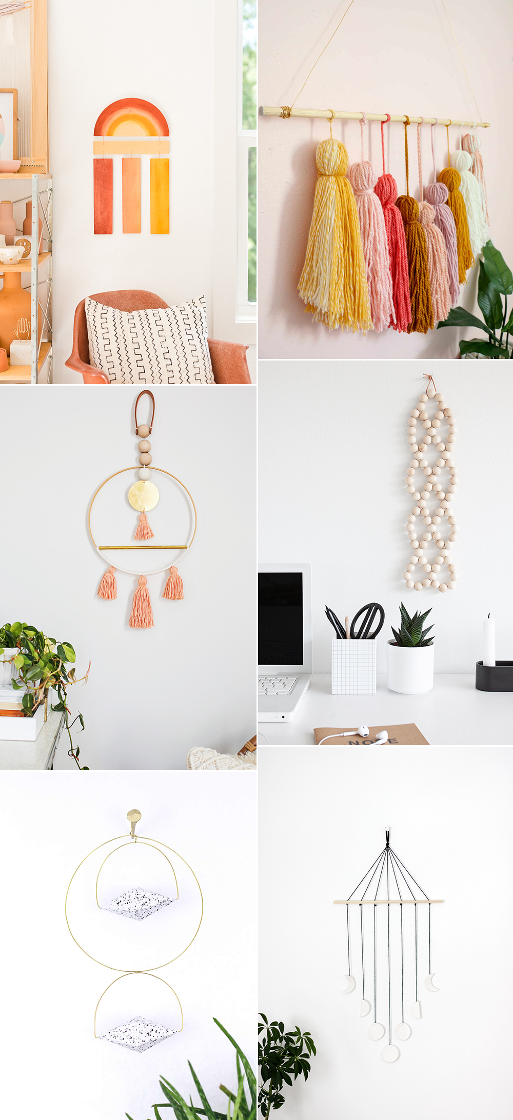 Wall Hanging Inspiration | we love handmade