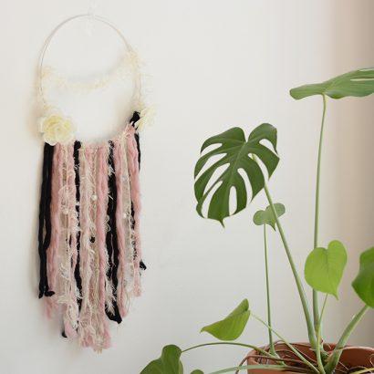Wanddekoration fertig - DIY | we love handmade