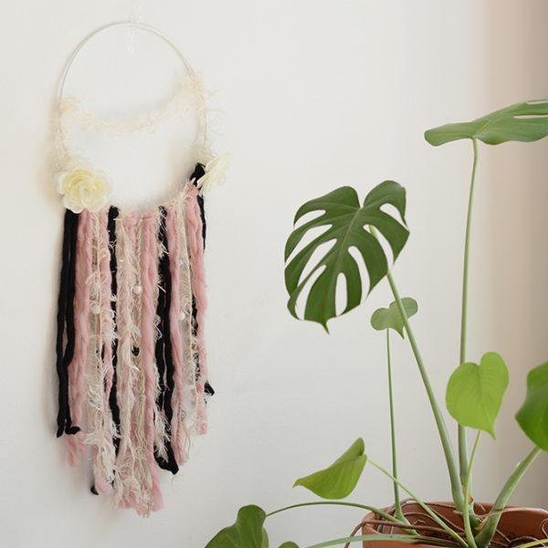 Wanddekoration fertig - DIY   we love handmade