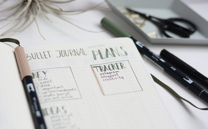 BuJo Planning Page | Pixi mit Milch