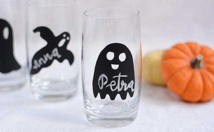 Halloween-Geister-Glasmarkierung | we love handmade