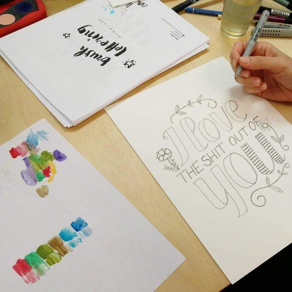 Hand-Lettering-Workshops | we love handmade