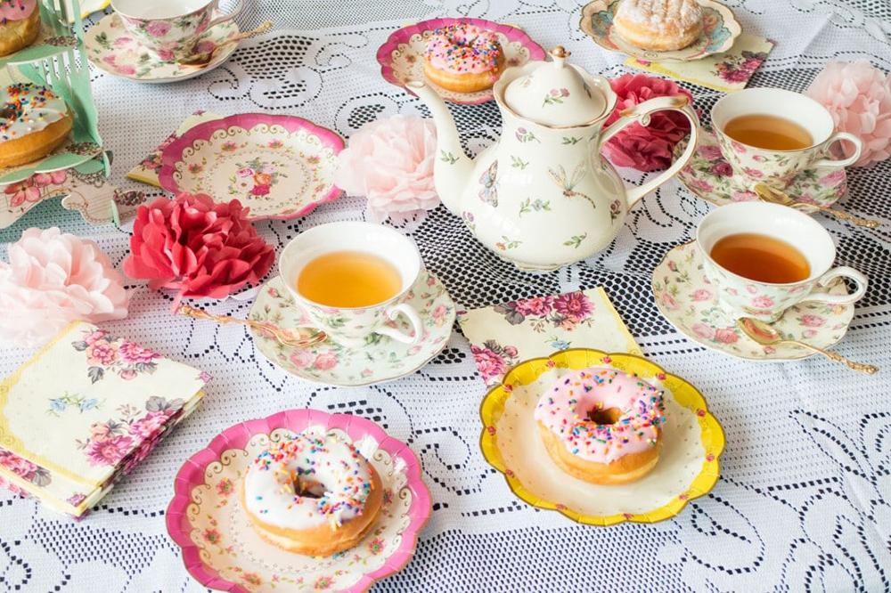 Inspirationen für eine Motto-Tea-Party | we love handmade
