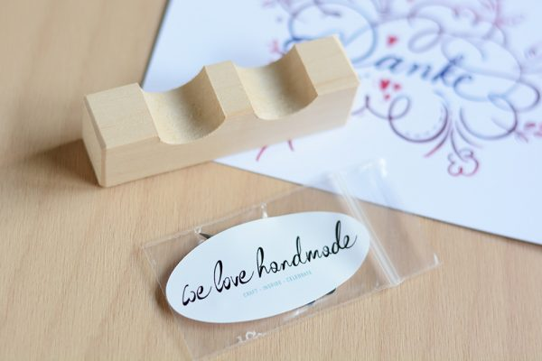 Kalligraphie-Set: Federhalter-Ablage | we love handmade