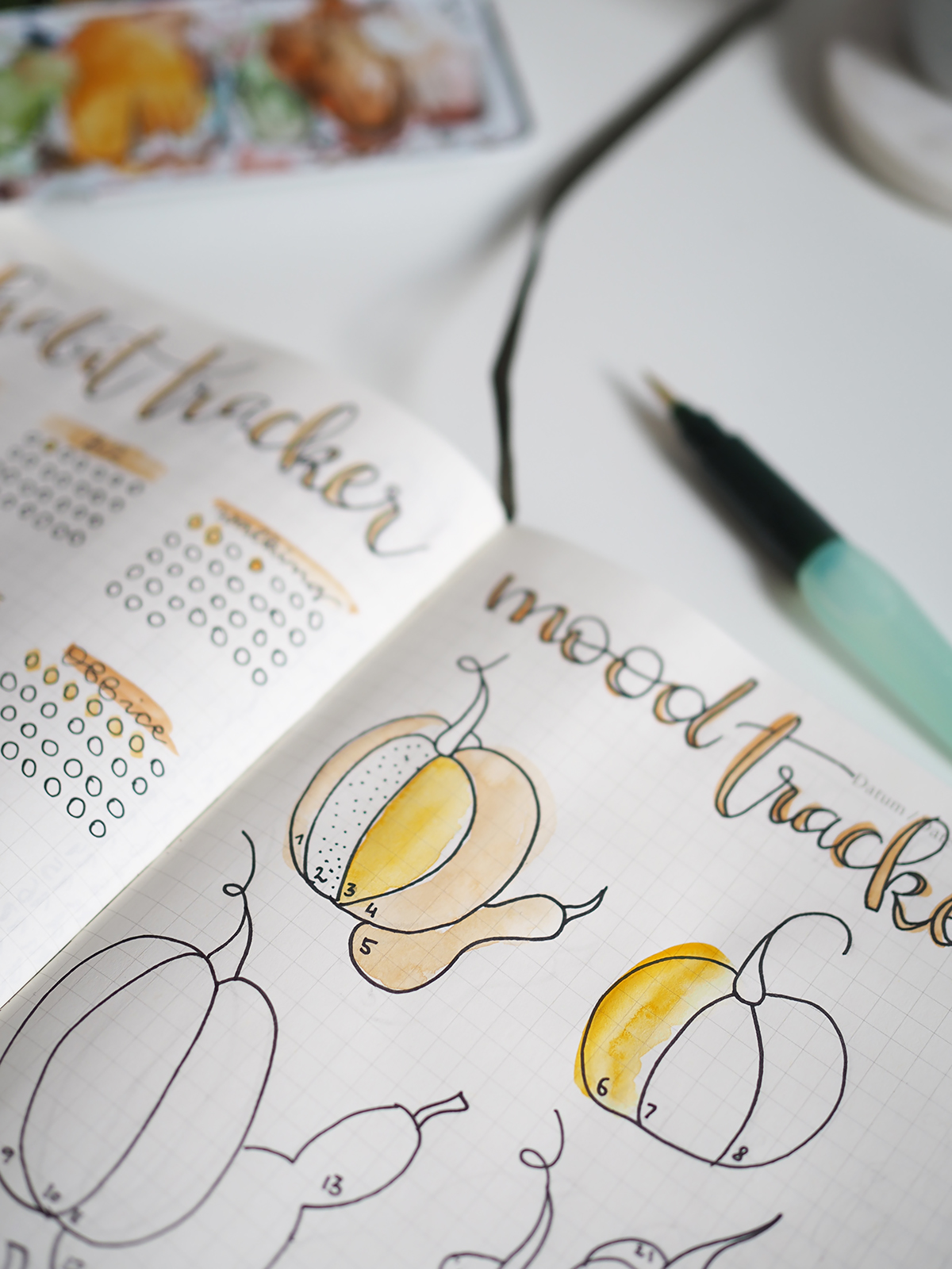 Mood Tracker Oktober | we love handmade