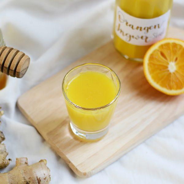 Orangen-Ingwer-Shot: DIY | we love handmade