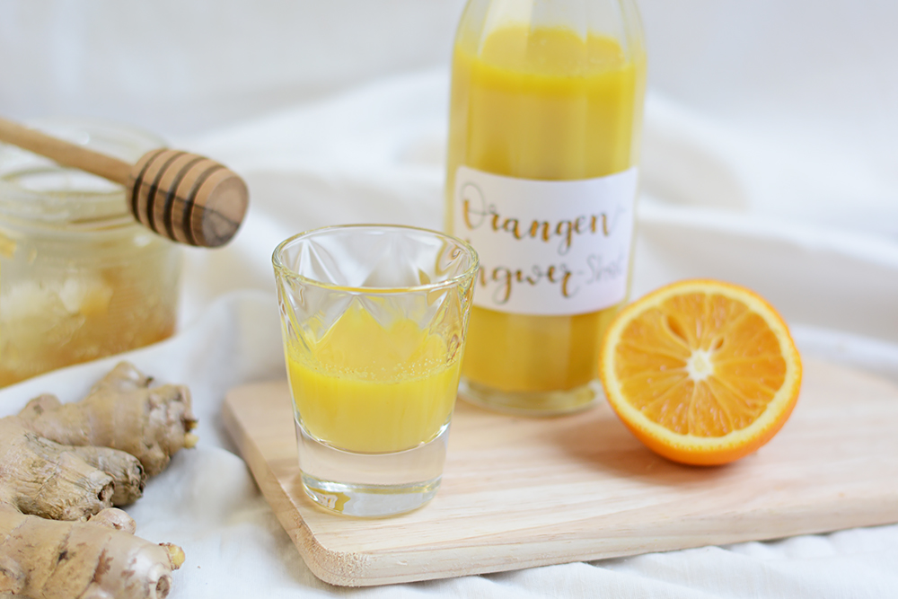 Orangen-Ingwer-Shot: Drink | we love handmade