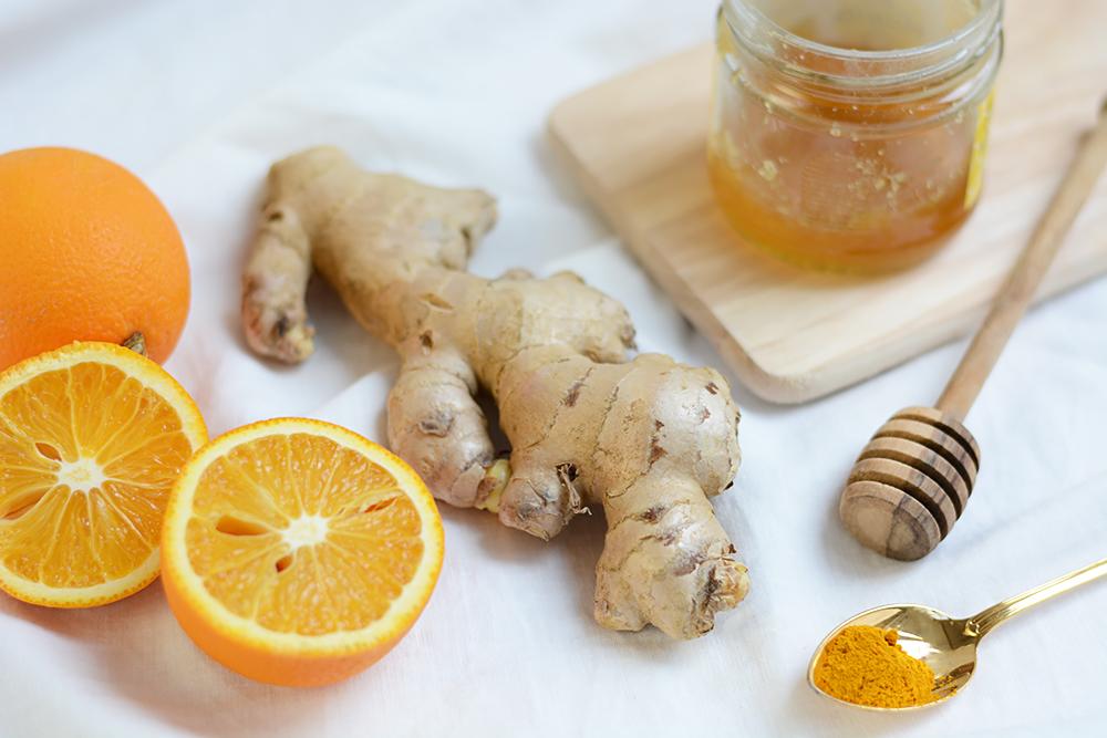 Orangen-Ingwer-Shot: Zutaten   we love handmade