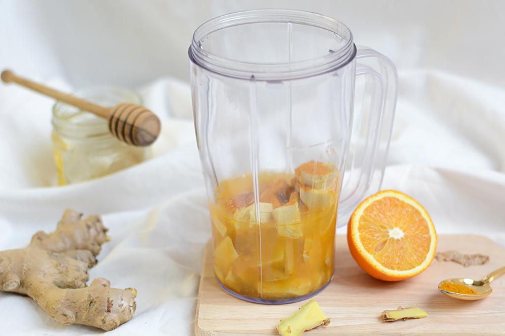 Orangen-Ingwer-Shot selber machen   we love handmade