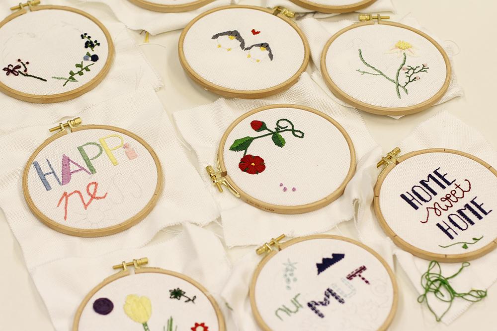 Stickbilder-Workshop: Ergebnisse | we love handmade