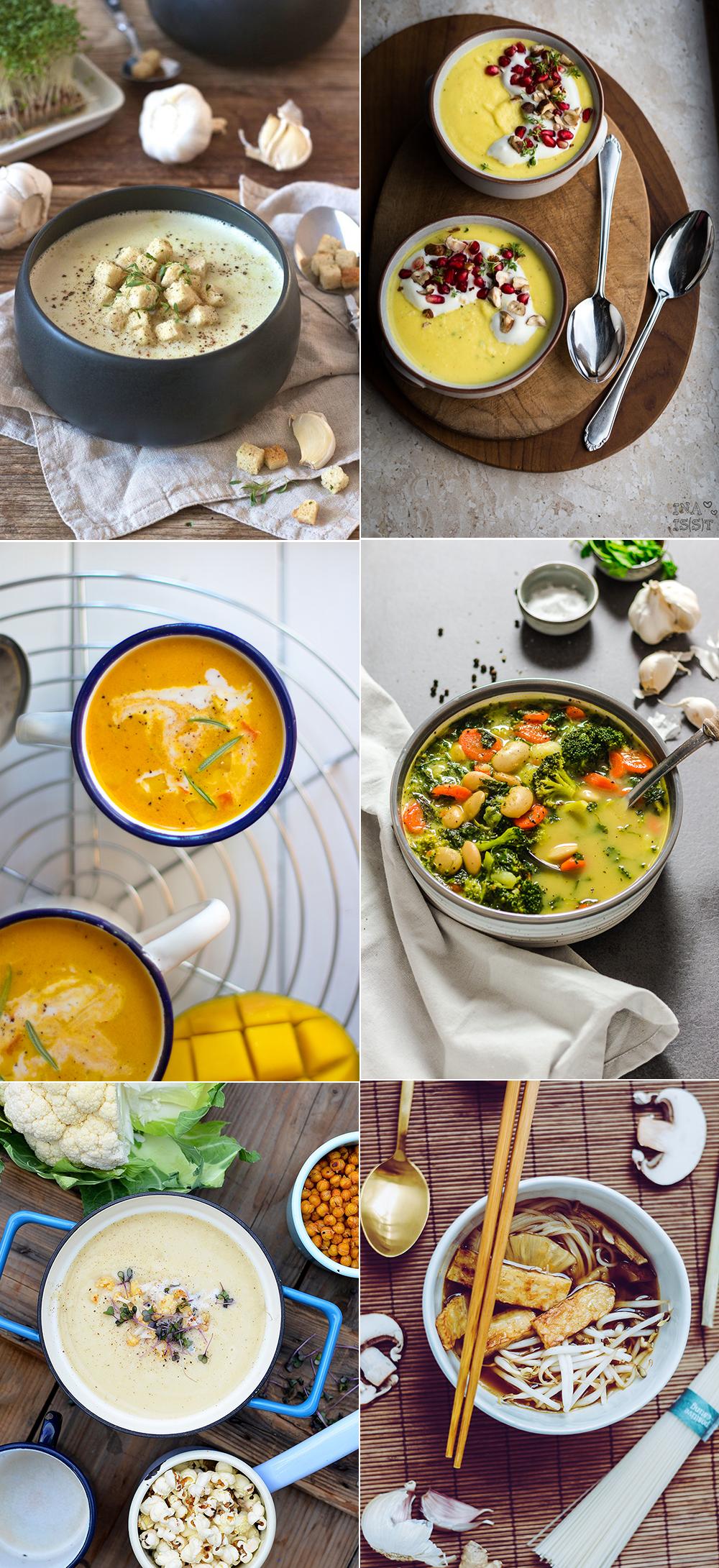 Suppenrezepte für den Herbst | we love handmade