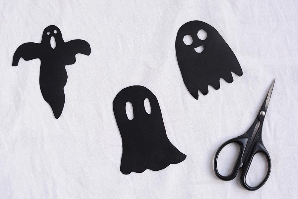 Tafelfolie-Geister: DIY   we love handmade