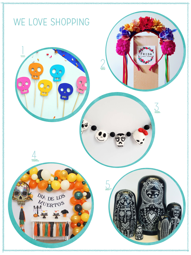 Shopping: dia de los muertos | we love handmade