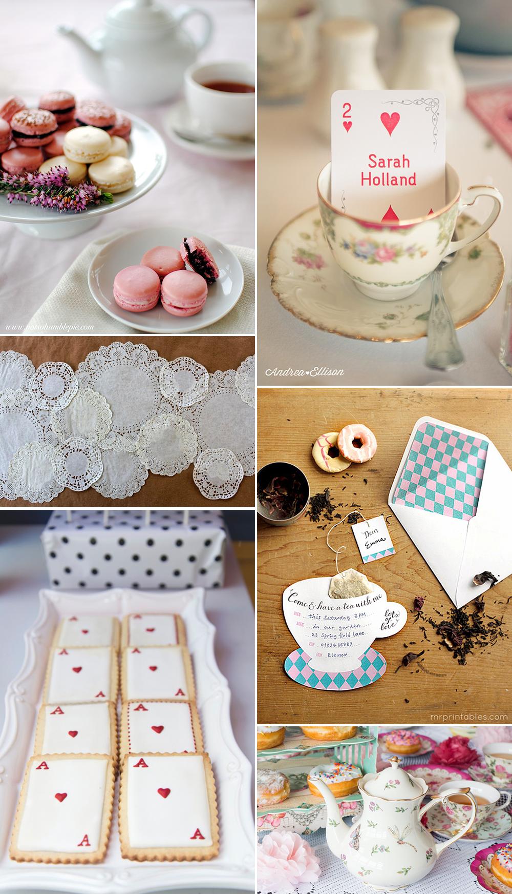 Rezepte und Dekorationen für eine Tea Party | we love handmade