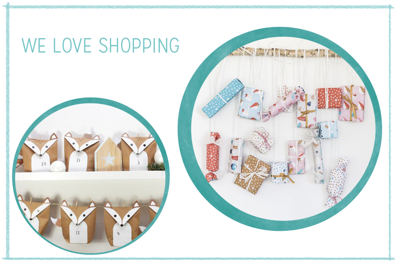 we love Shopping: Adventskalender zum Befüllen | we love handmade