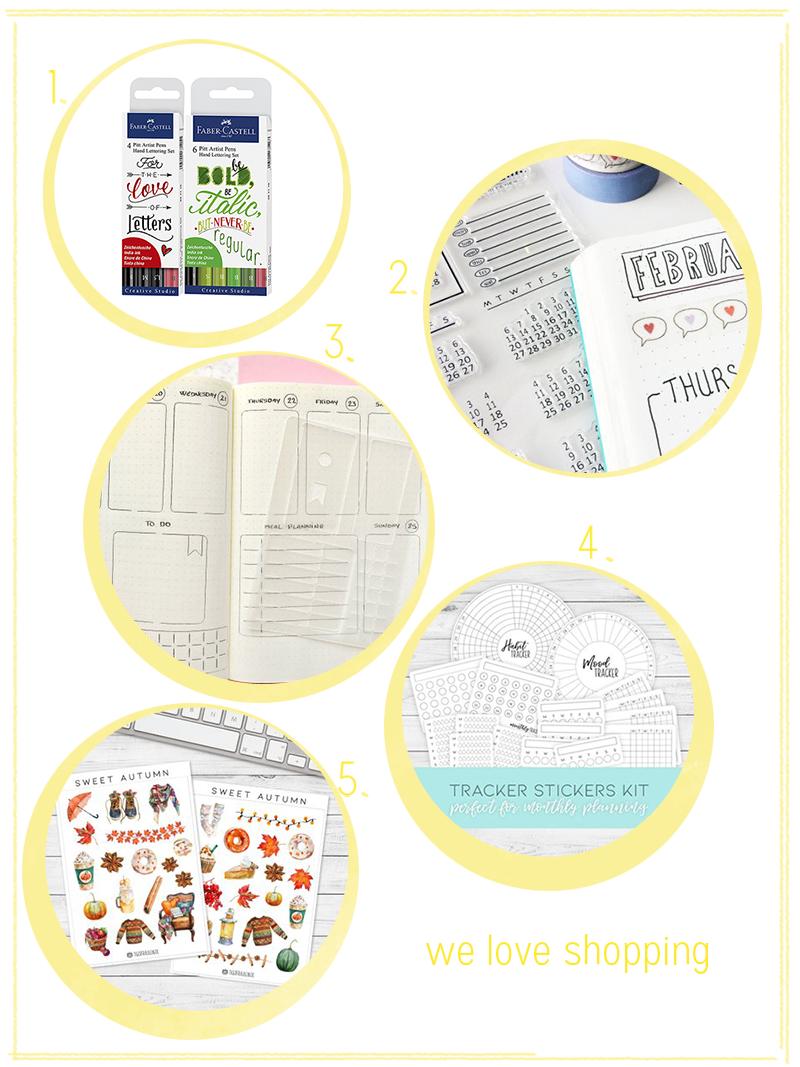 we love Shopping: Bullet Journaling |we love handmade