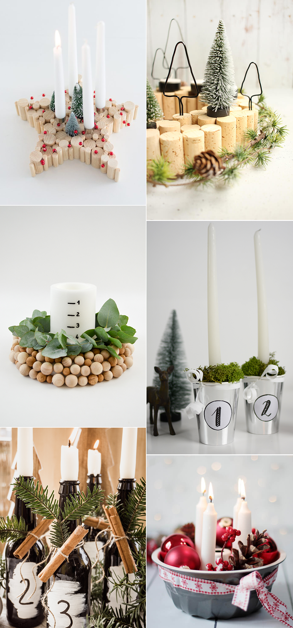 Adventskränze: DIY-Inspirationen | we love handmade