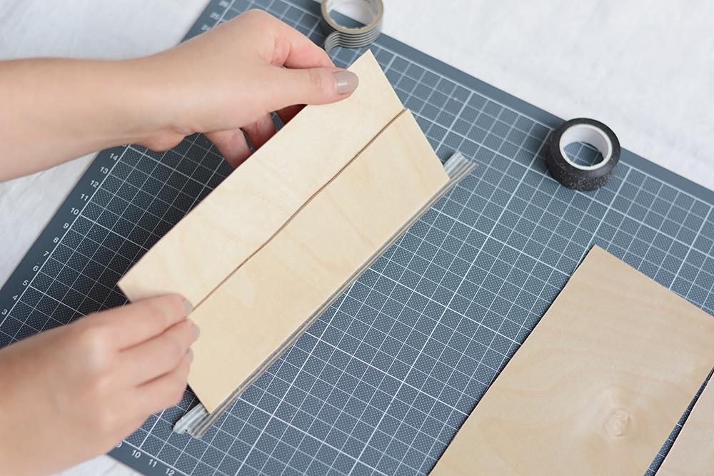 DIY: Holzvase selber machen | we love handmade