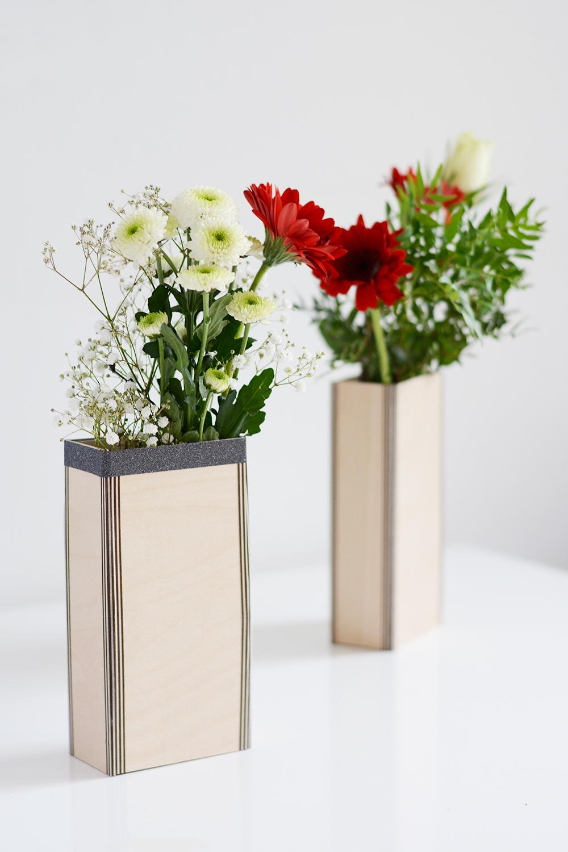 DIY: Holzvasen-Tutorial | we love handmade