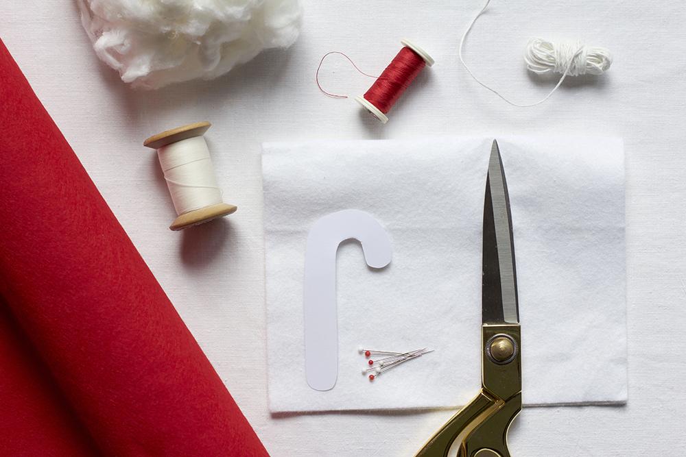 Filzornamente: Material | we love handmade