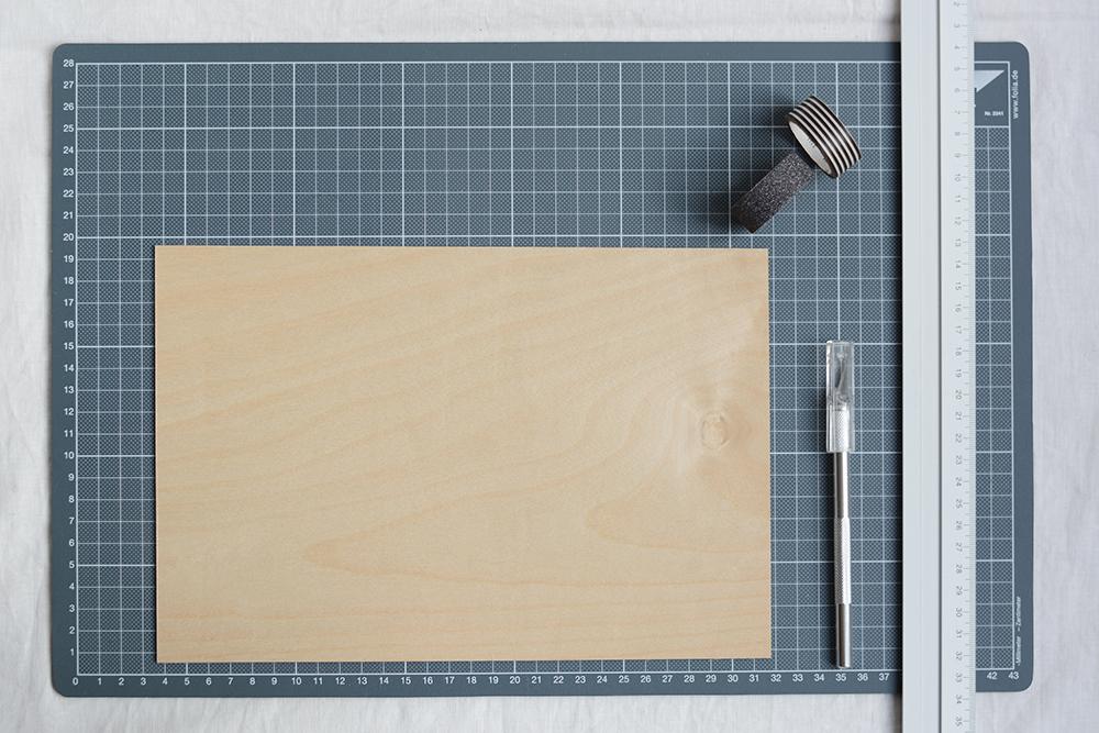 Holzvase: DIY-Material | we love handmade