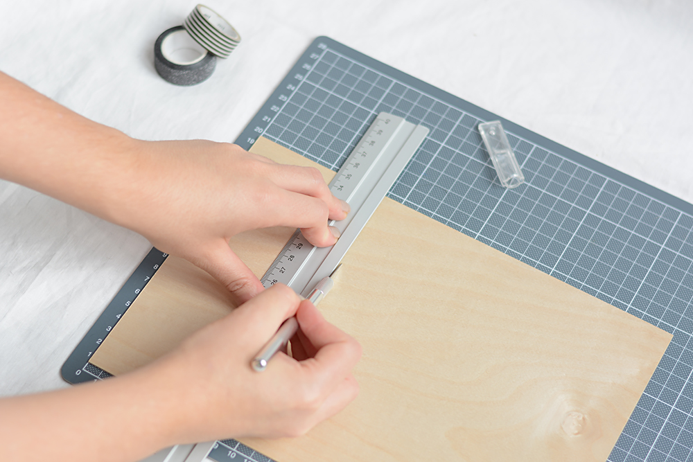 Holzvase-DIY: schneiden | we love handmade