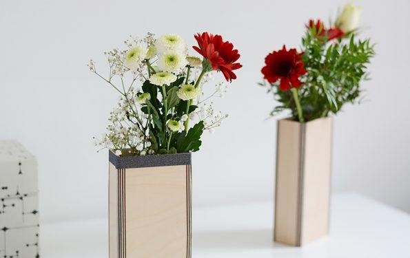 Holzvasen: Quick-DIY | we love handmade