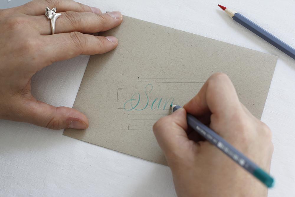 Kalligraphie-DIY: Kuverts beschreiben | we love handmade