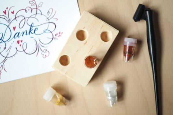 Kalligraphie Dinky-Dip-Halter |we love handmade