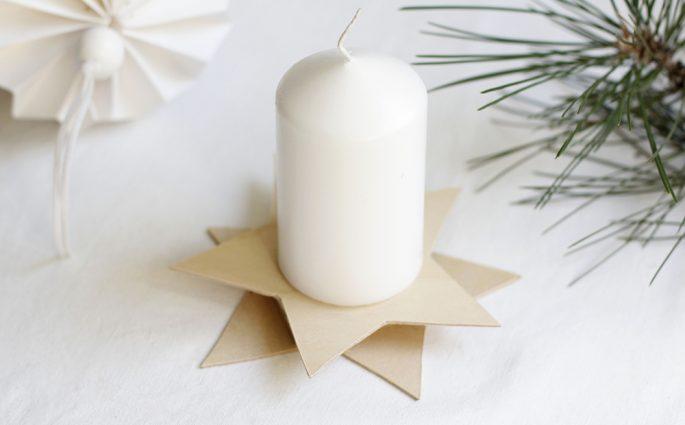 Kerzenständer aus Holz selber machen | we love handmade