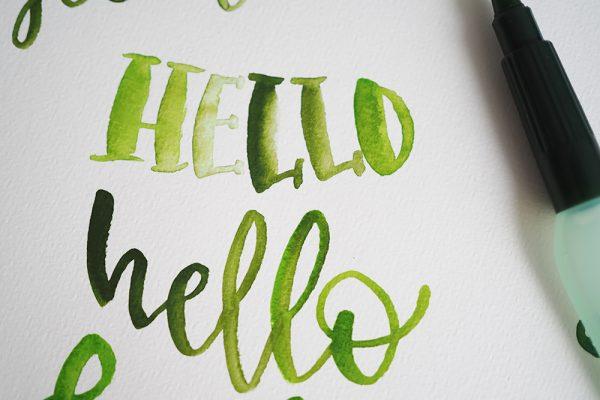 Lettering |we love handmade