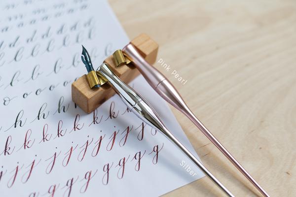 Moblique-Federhalter: Silber | we love handmade