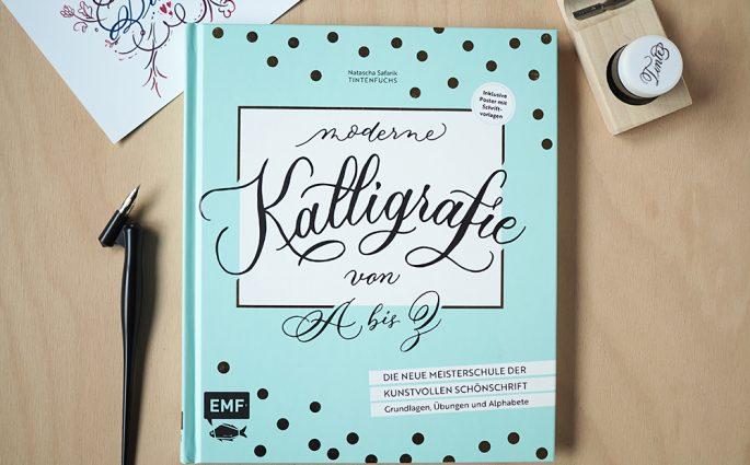 Buch: Moderne Kalligrafie von A bis Z von Natascha Safarik |we love handmade