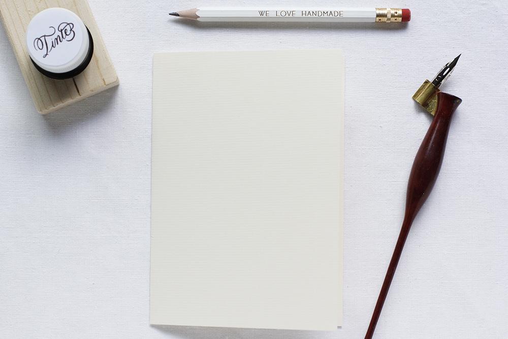 DIY: Kalligraphie-Karte Material | we love handmade