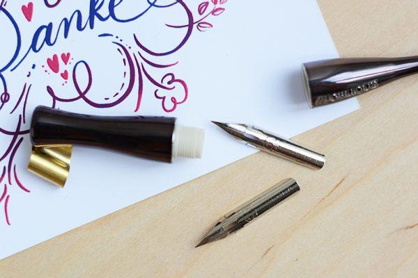 Moblique inkl. Feder-Set | we love handmade
