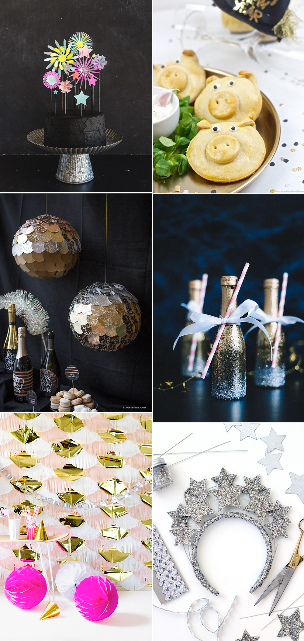Silvester-Party DIY-Ideen | we love handmade