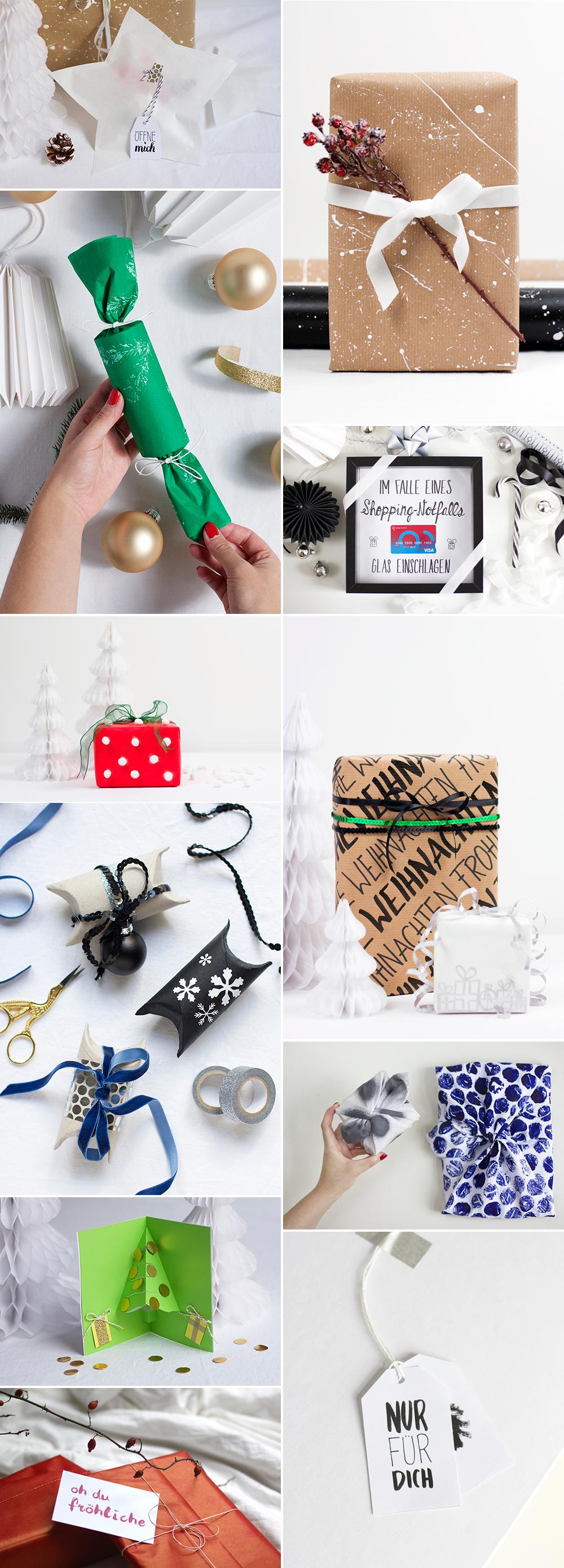 we love Inspiration: Geschenke kreativ verpacken