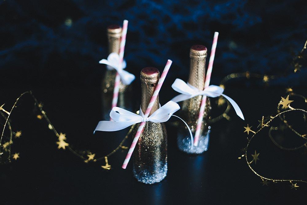 Glitzer-Champagner / Foto von who is mocca