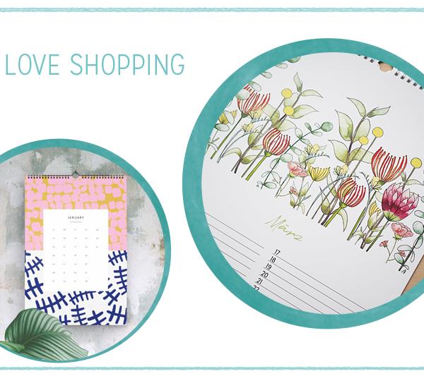 we love Shopping: Kalender 2019