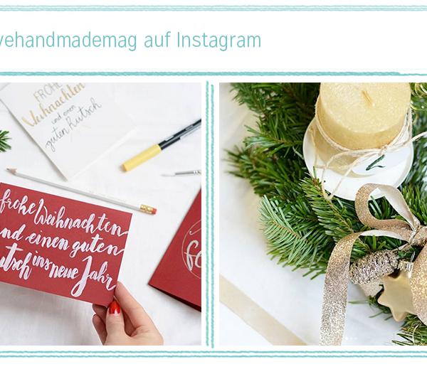 we love Instagram: November   we love handmade