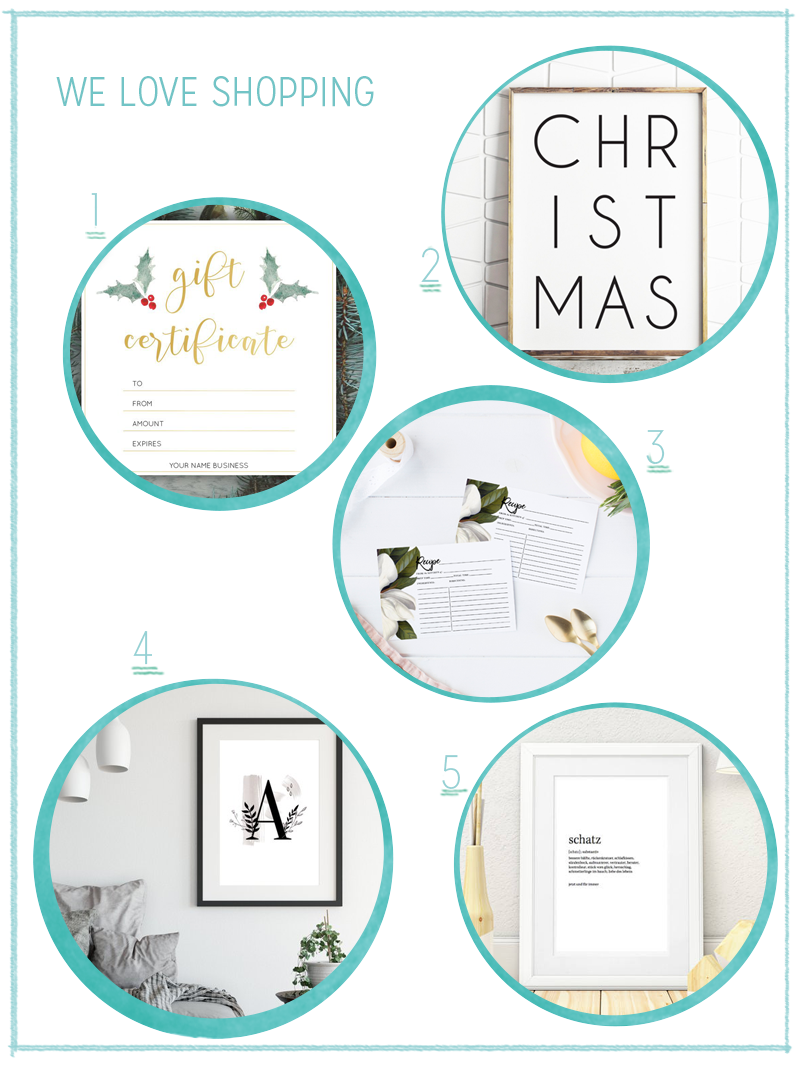 we love Shopping: Last Minute Christmas Gifts | we love handmade