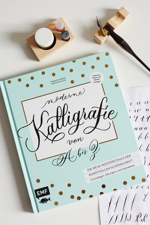 Kalligrafie von A bis Z - Buch | we love handmade