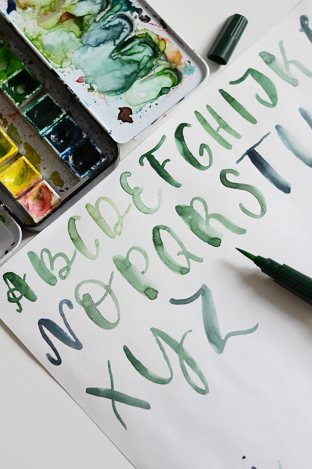 Lettering-Alphabet | we love handmade