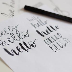 Lettering-Workshop Wien   we love handmade