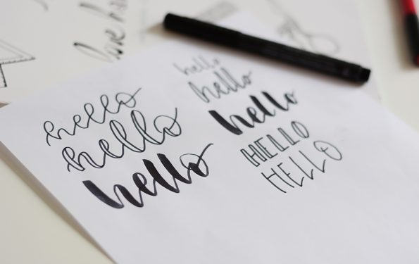 Lettering-Workshop Wien | we love handmade
