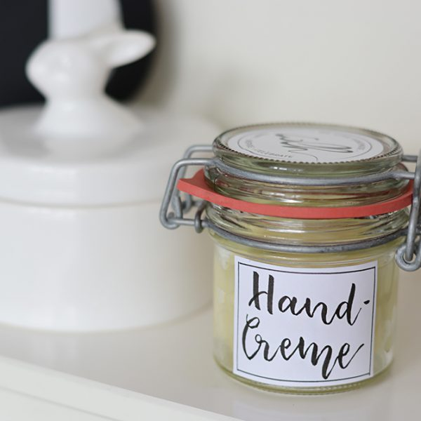 Pflegende Handcreme DIY | we love handmade