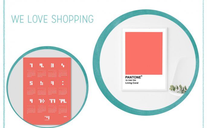 we love Shopping: Pantone Living Coral Trendfarbe des Jahres 2019