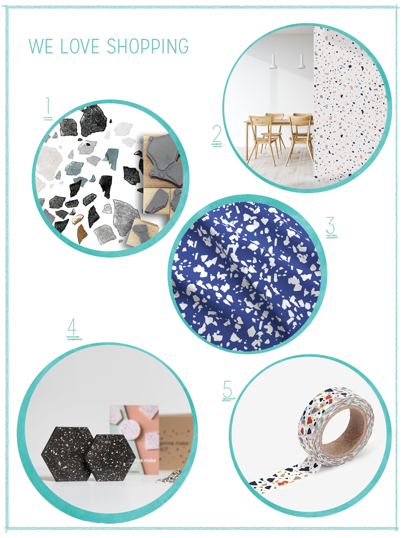 we love Shopping: Terrazzo | we love handmade