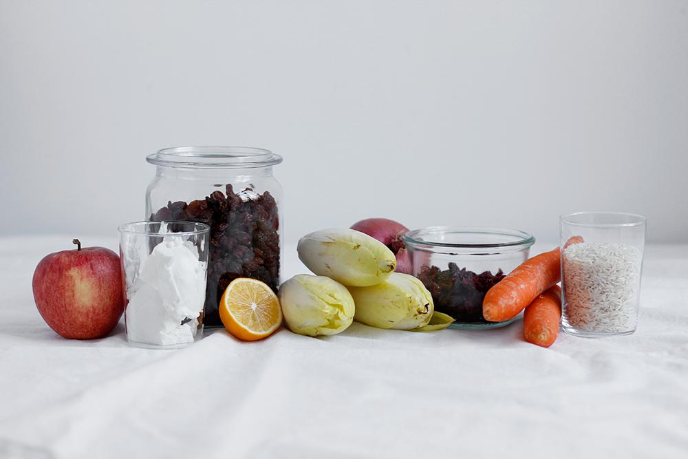 Zutaten für Chicorée Rezept | we love handmade