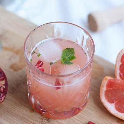 Granatapfel-Grapefruit-Cocktail: DIY | we love handmade